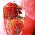 Papel com aroma de Champagne com Morango